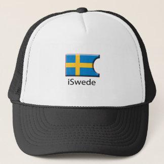 iFlag Sweden Trucker Hat