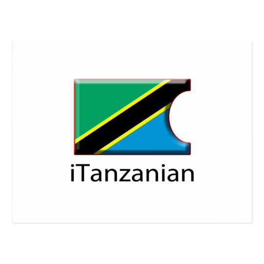 iFlag Tanzania Postcard