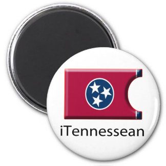 iFlag Tennessee 2 Inch Round Magnet