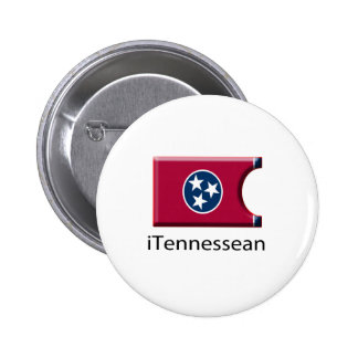 iFlag Tennessee Pinback Buttons