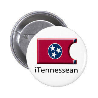 iFlag Tennessee Pinback Button