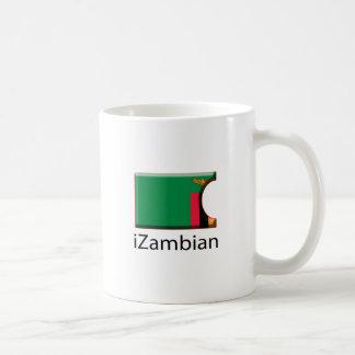 iFlag Zambia Classic White Coffee Mug