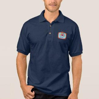 iflixtv Navy Blue Polo