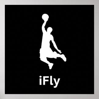 iFly Basketball Poster
