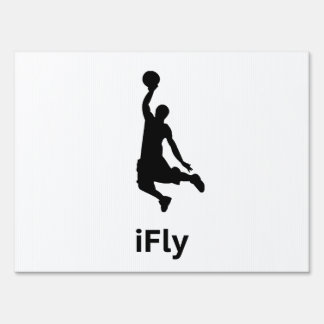 iFly Basketball Signs