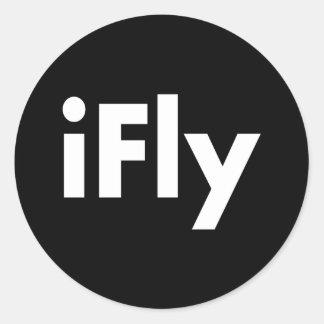 iFly Classic Round Sticker