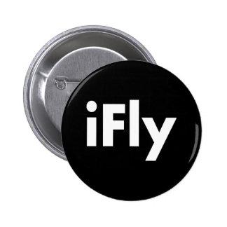 iFly Pin Redondo De 2 Pulgadas