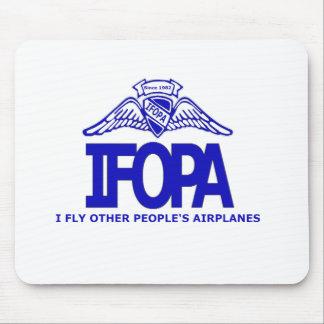 IFOPA los aeroplanos de la otra gente de I mosca Tapetes De Raton