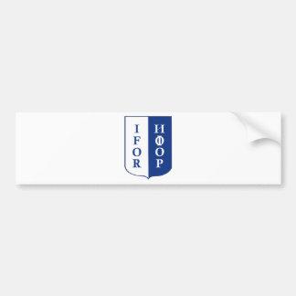 IFOR Bosnia Bumper Sticker