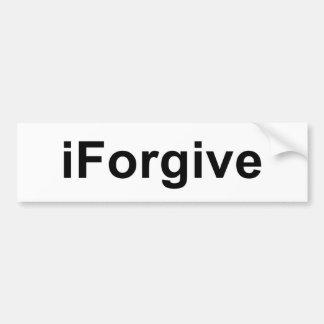 iForgive Bumper Sticker