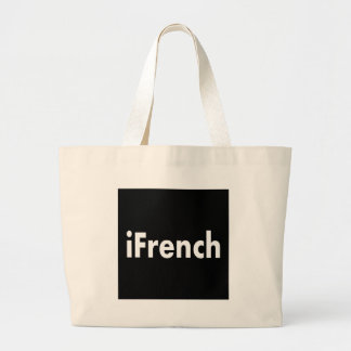 iFrench Large Tote Bag
