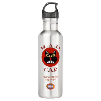 IGA M.A.D. Cap Stainless Steel 24oz. To Go Bottle