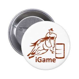 iGame Barrel Racing Horse Button