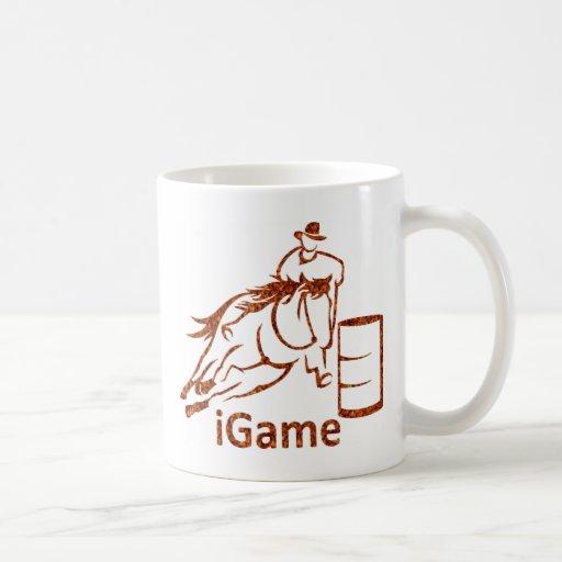 iGame Barrel Racing Horse Mug