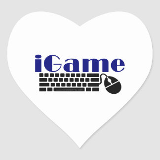 iGame Heart Sticker