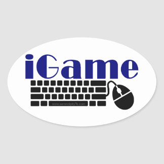 iGame Oval Sticker