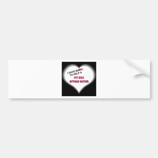 igaveblood600x600.jpg bumper sticker