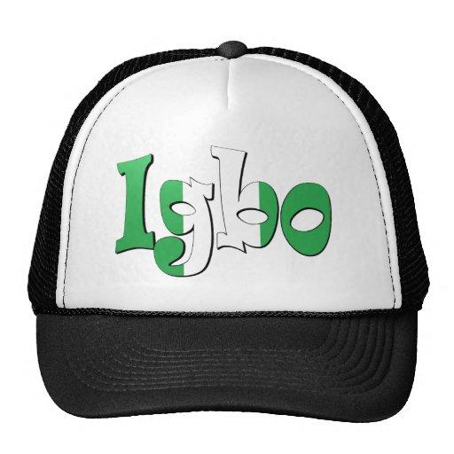 Igbo (bandera nigeriana) gorra