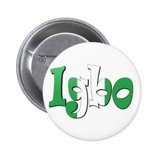 Igbo (bandera nigeriana) pin