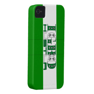 Igbo de encargo de Africankoko, Nigeria Case-Mate iPhone 4 Fundas