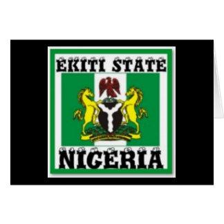 IGBO, NIGERIA CARDS