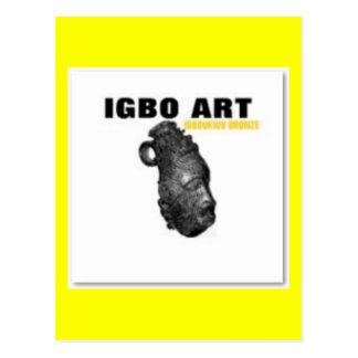 "IGBO, NIGERIA CULTURE AND ART ""T-SHIRT"" & Etc Post Cards"