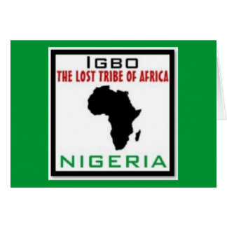 IGBO, NIGERIA GREETING CARDS