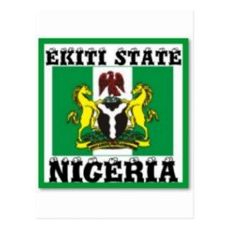 IGBO, NIGERIA POSTCARD
