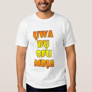 Igbo Shirt - Uwa bu ofu mbia