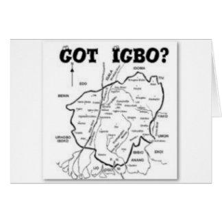 """IGBO"" TRIBE, NIGERIA(T-Shirt And etc) Greeting Card"