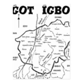 """IGBO"" TRIBE, NIGERIA(T-Shirt And etc) Postcard"