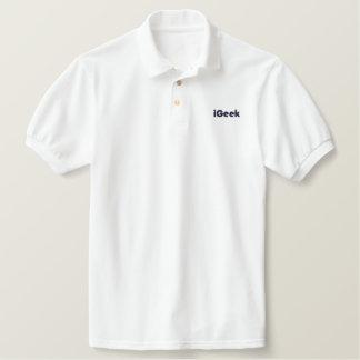 iGeek embroidered polo shilt