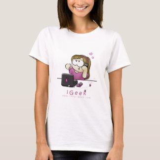 iGeek girl shirt