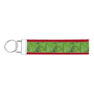 Iggy la iguana verde llavero de pulsera