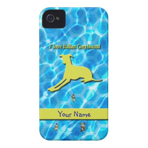 Iggy pool lying yellow for iphone4 iPhone 4 Case-Mate cases