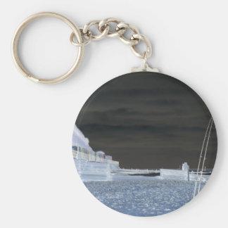 Iggys Fishing Trip Basic Round Button Keychain