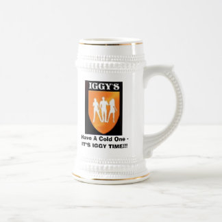 Iggy'sLogo, Have A Cold One -IT 18 Oz Beer Stein