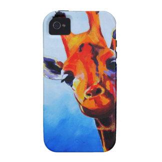 iGiraffe - cubierta del iPhone Case-Mate iPhone 4 Carcasa