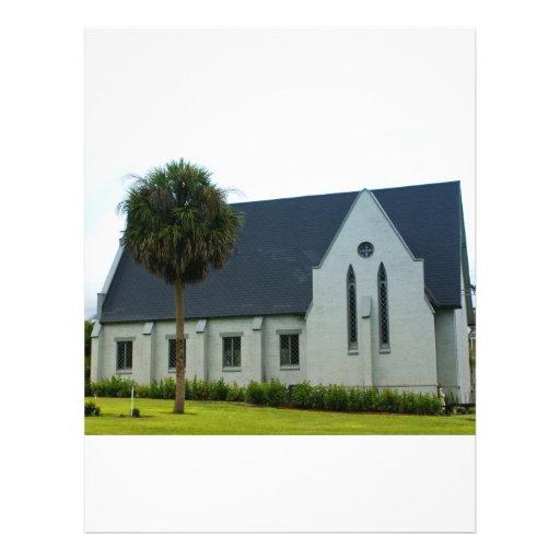 Iglesia abajo al sur flyer a todo color