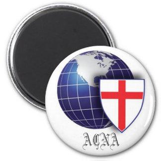 Iglesia Anglicana en Norteamérica Imán Redondo 5 Cm