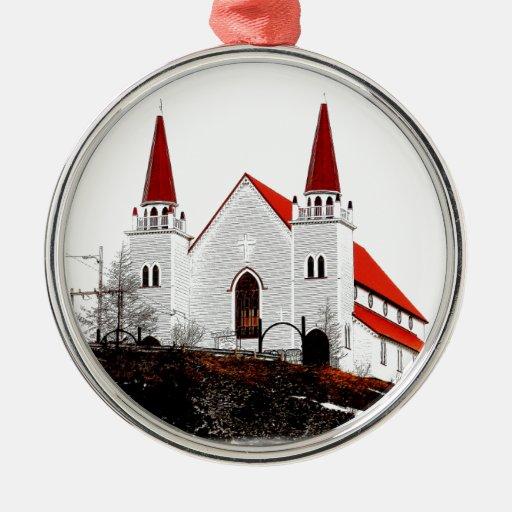 Iglesia Anglicana santa del redentor Adornos De Navidad