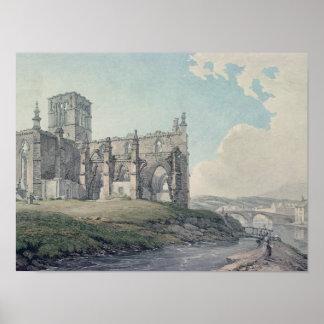 Iglesia anterior, Haddington, 1786 Póster