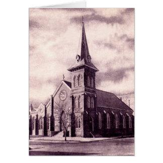 Iglesia baptista de Carolina del Norte de la ciuda Felicitación