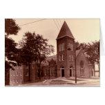 Iglesia baptista histórica de Magness Tarjetón