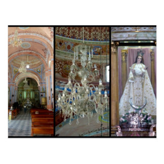 Iglesia Candelaria Postcard