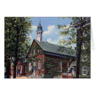 Iglesia casera de Winston Salem Carolina del Norte Tarjeta De Felicitación