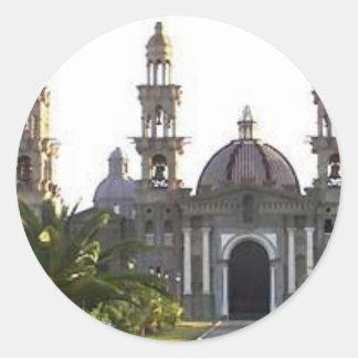 Iglesia católica de Palmarian Pegatina Redonda