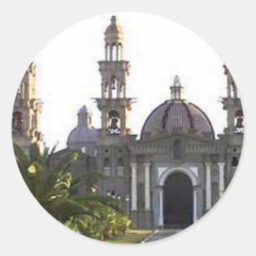 Iglesia católica de Palmarian Pegatinas Redondas