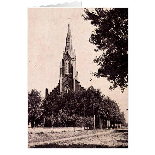 Iglesia católica de San Antonio de Effingham Tarjeta De Felicitación