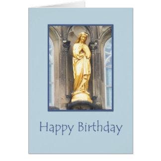 Iglesia católica de St Mary - tarjeta del feliz cu